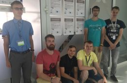 Six students will carry out scientific summer internships